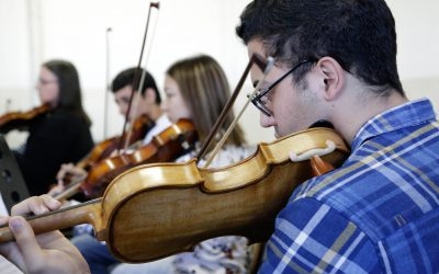 Master Class ministrado pelo violoncelista Ionan Daniel