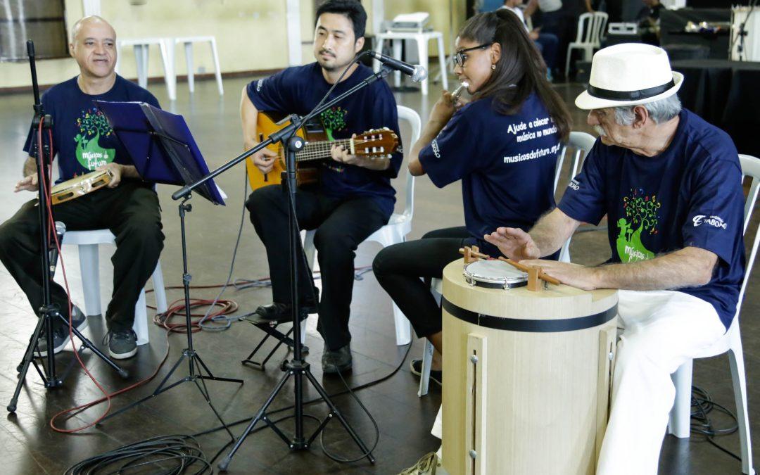 Grupo de Chorinho se apresenta em Circuito de Arte & Cultura