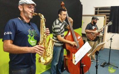 """Recebemos o trio """"Expresso Jazz"""" na nossa Quinta Musical"""