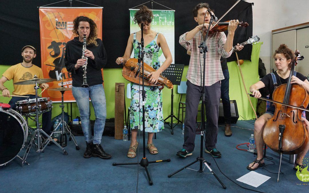 Associação Músicos do Futuro promove workshop de música Judaica
